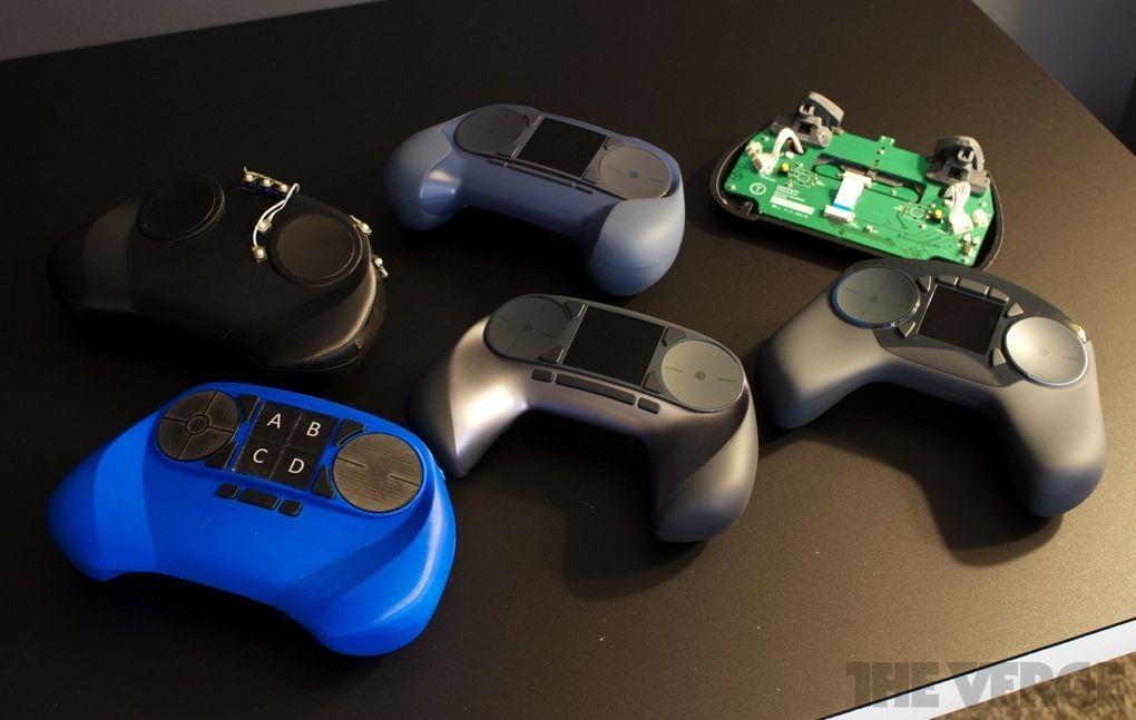 Steam Controller #valve #steam #design #prototype   Valve ...Valve Console Controller