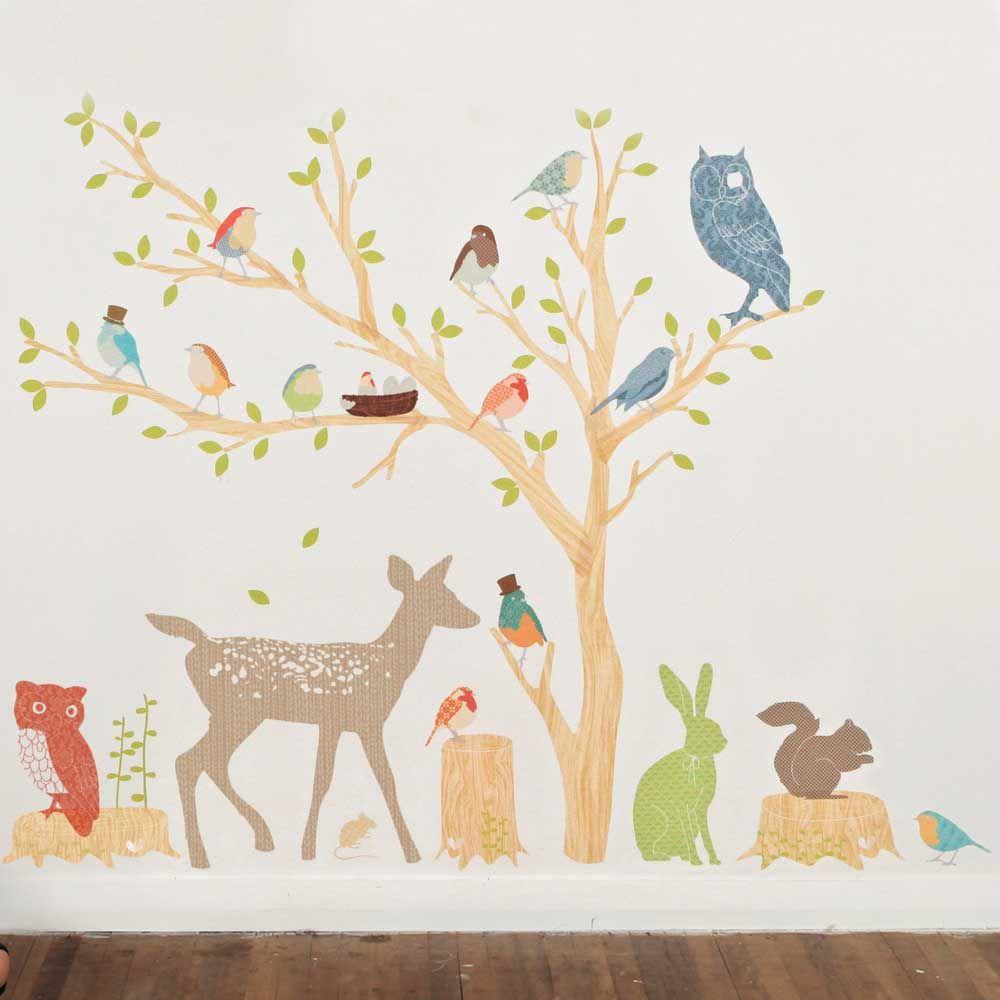 kinderzimmer wandgestaltung wald | hyeyeonpark, Schlafzimmer design