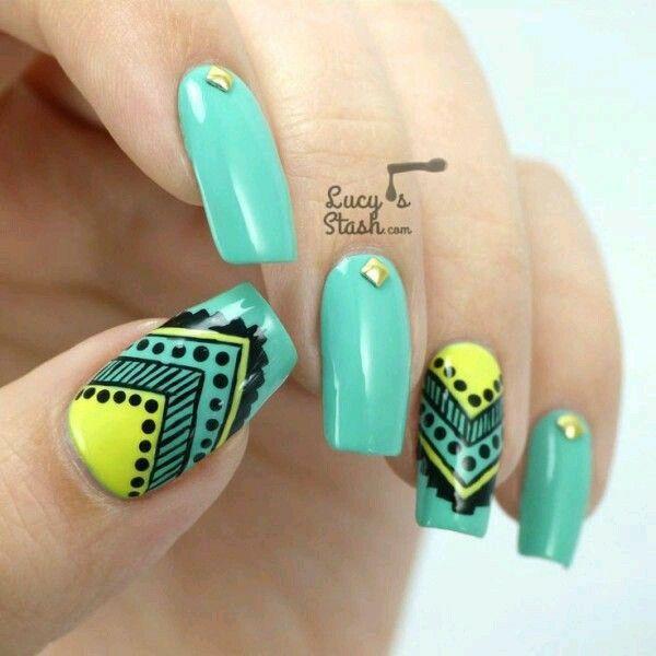 Pin de cyndy lop en Nail Design   Pinterest