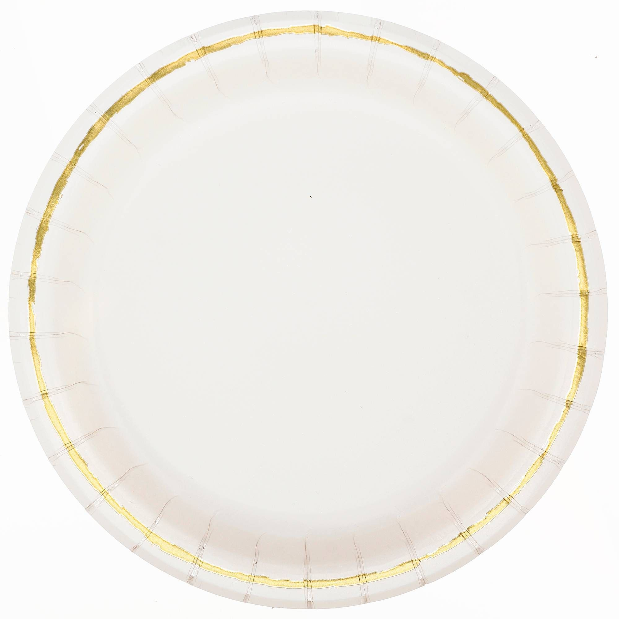 20ct Disposable Dinner Plates Off-White - Spritz™