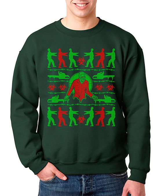 Zombie Christmas Sweater.And This One Because Zombies Winter Crafts Ideas
