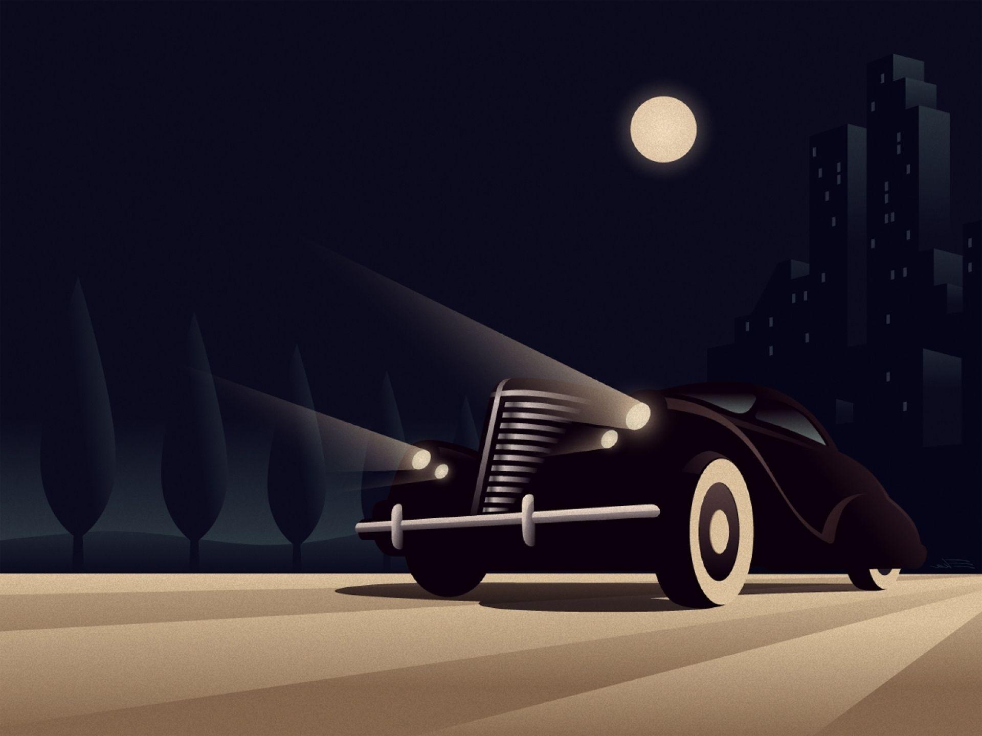 Cityscapes Cars Architecture Buildings Artwork Automotive Art Deco