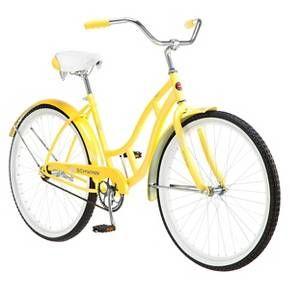 Schwinn Women S Legacy 26 Cruiser Bike Yellow Target Cruiser Bike Beach Bike Schwinn