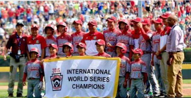 Congrats to Japan who won the little league World Series with a 11-18 win over Pennsylvania.
