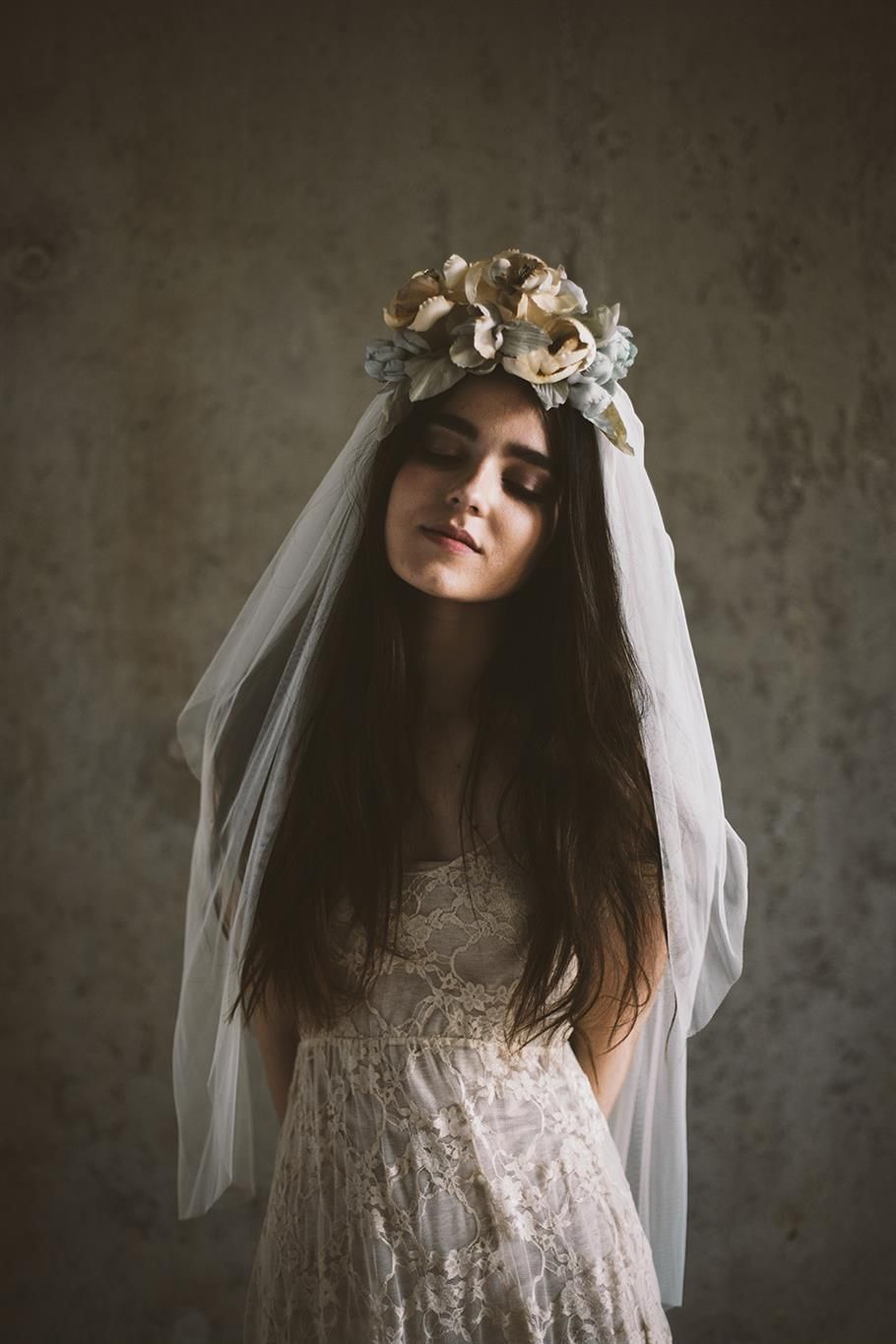 Romantic wedding hair accessories for the 2015 bride headpieces romantic veils and bridal headpieces for the modern vintage loving bride from mignonne handmade dhlflorist Images