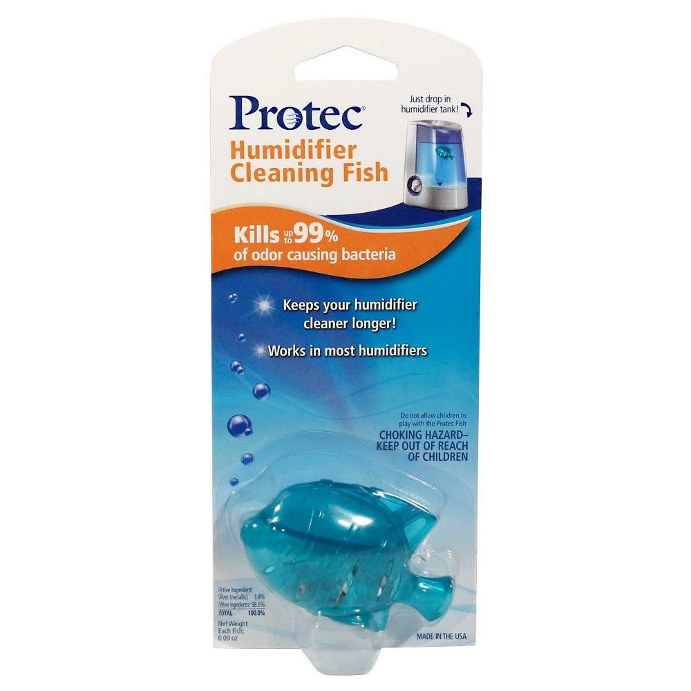 Protec Humidifier Cleaning Fish 1ct