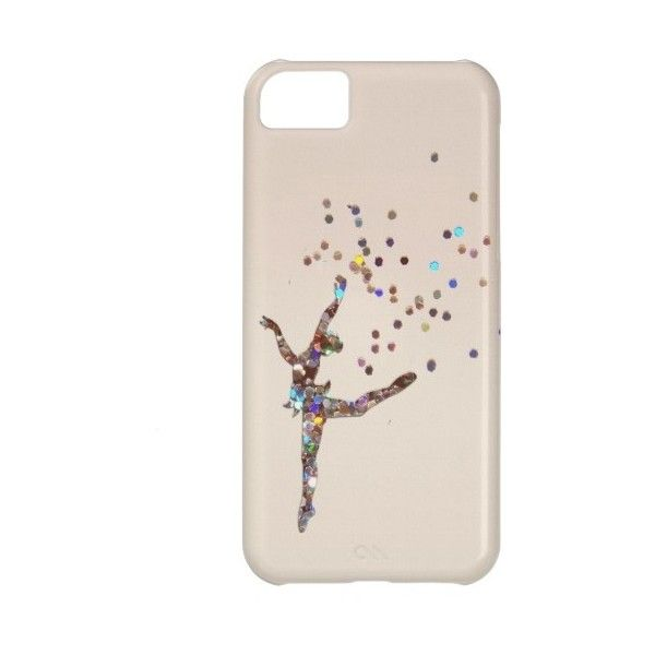 Glittery Dancer Case Case For Iphone 5c ($32) ❤ liked on Polyvore featuring accessories e tech accessories