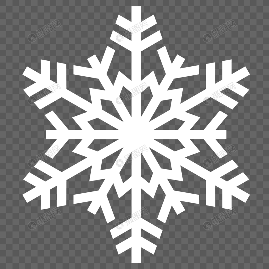 Snowflake White Snowflakes Floating Dots Christmas Winter Snowflakes Floating Snowflakes And Snow Template Design Vector Graphics Image