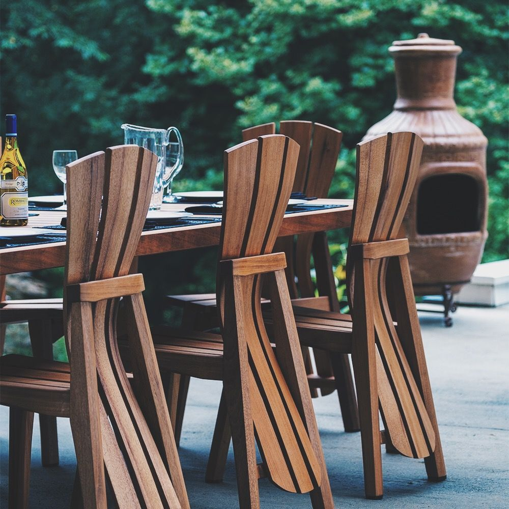 Luxury patio furniture adirondack style decor mahogany - Adirondack style bedroom furniture ...