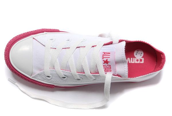 e769708bceaa Newest Dazzle Colour Converse All Star Light White Red Low Tops Casual  Canvas Sneakers  converse  shoes