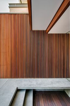 Thin Wood Slat Vertical Screen Architecture Google Search In 2019 Exterior Cladding