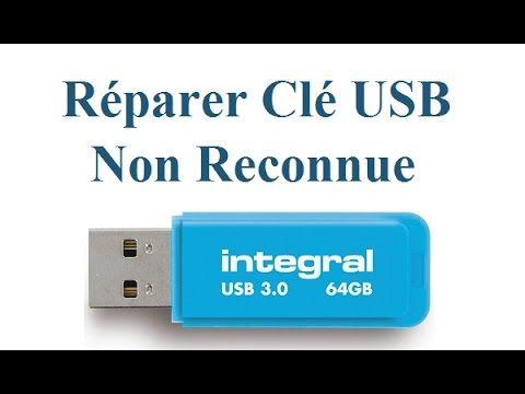 Recuperer Cle Usb Qui N Est Plus Reconnue Par Windows Youtube