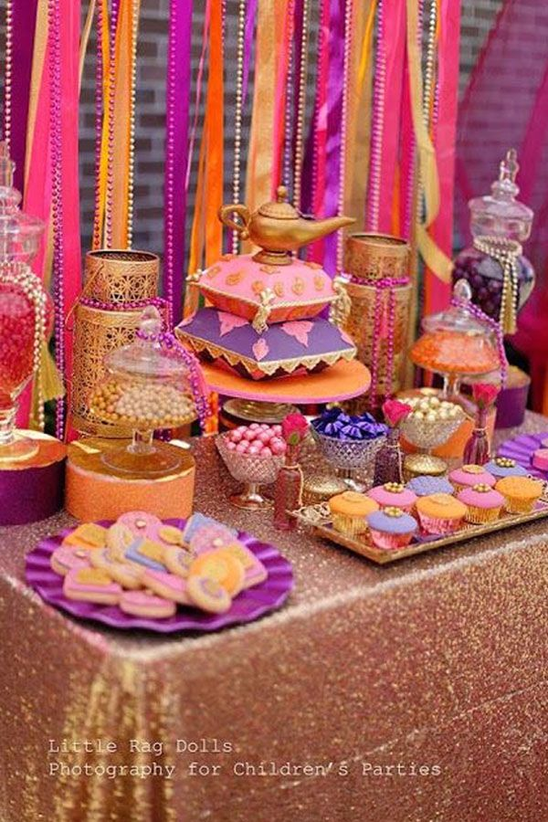 Moroccan Sweet 16 Party