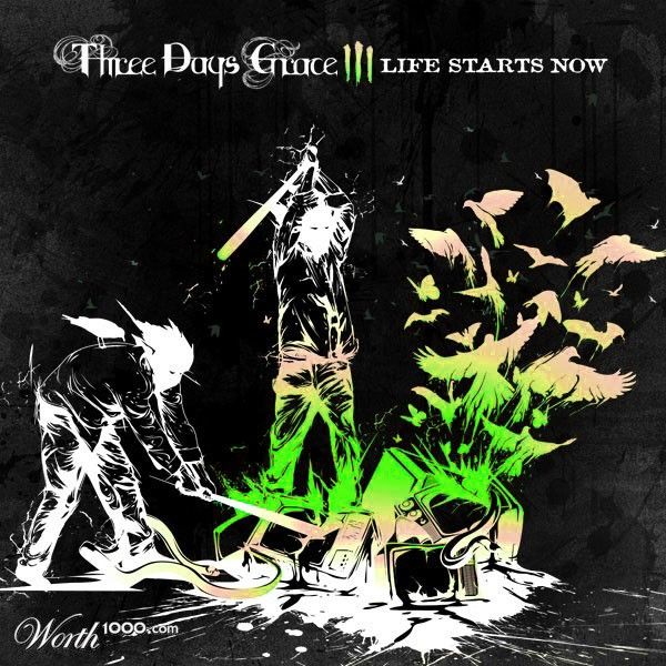 Three Days Grace Life Starts Now Its Not What It Looks Like For Real But It Sure Is Cool Three Days Grace Grace Art Three Days