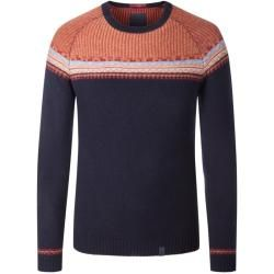Photo of Übergröße: Colors & Sons, Pullover aus Wollmischung, extra lang in Navy für Men Colors & Sons