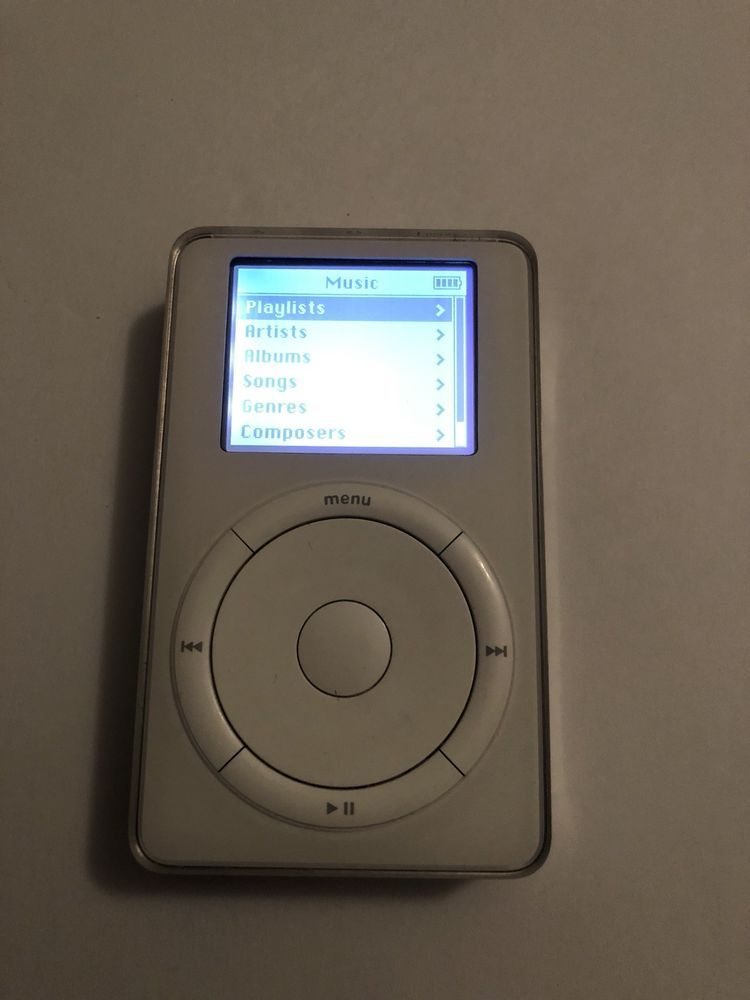 Apple IPod 1st Generation 5gb Classic M8541 EBay Link