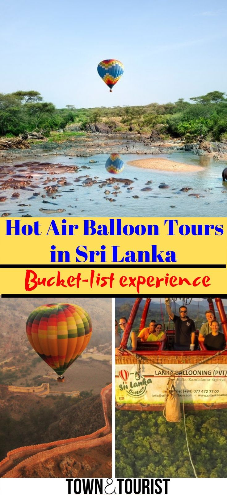 Hot Air Balloon Tours in Sri Lanka, Ultimate Guide! Hot