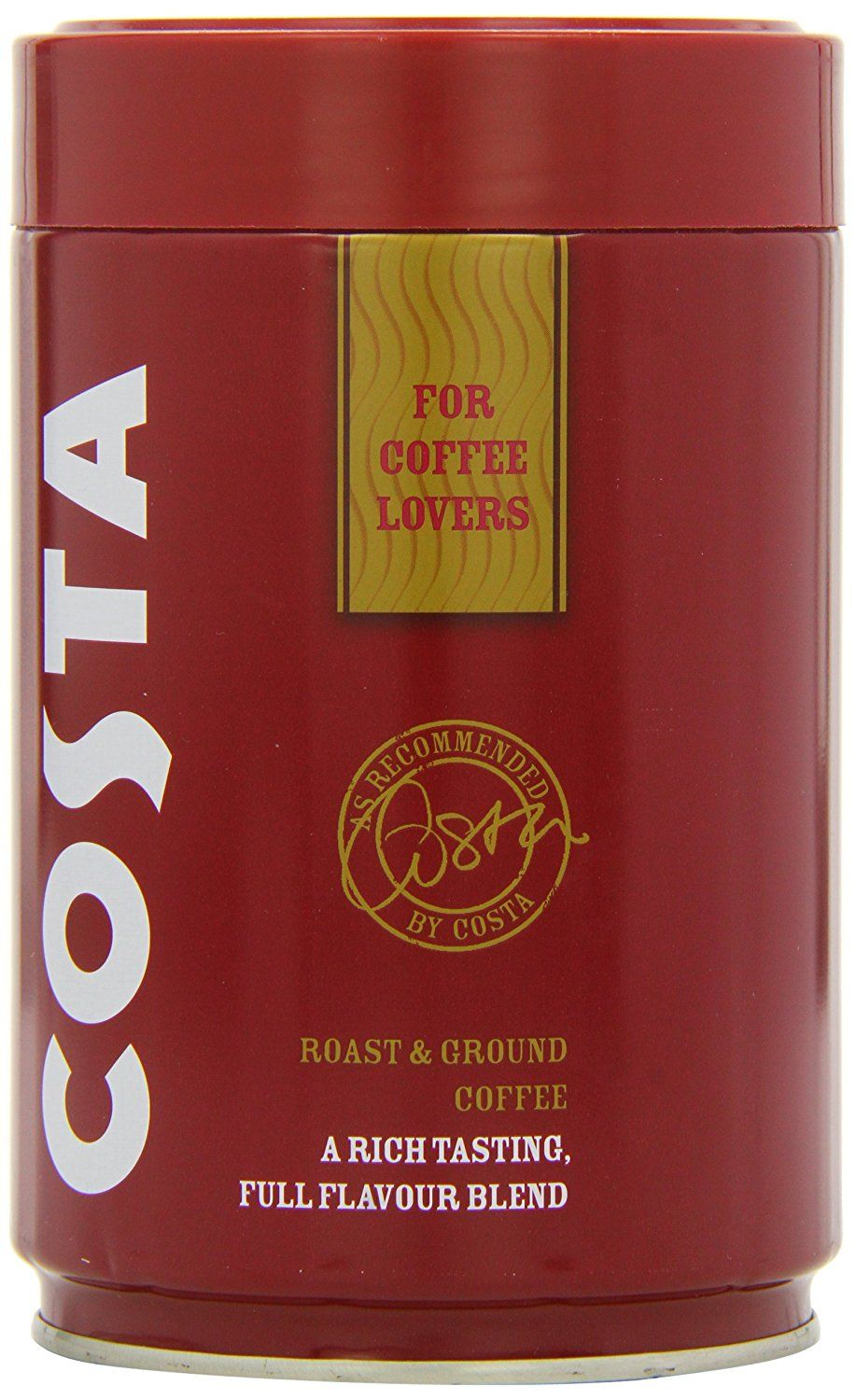 Costa Roast And Ground Coffee 250g Full Flavour Blend