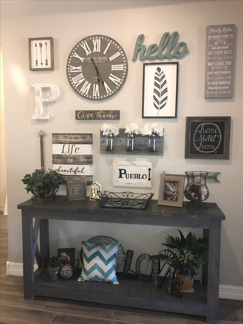 kitchen wall collage diy living rooms 36 trendy ideas farmhouse wall decor decor on kitchen decor wall ideas id=81671