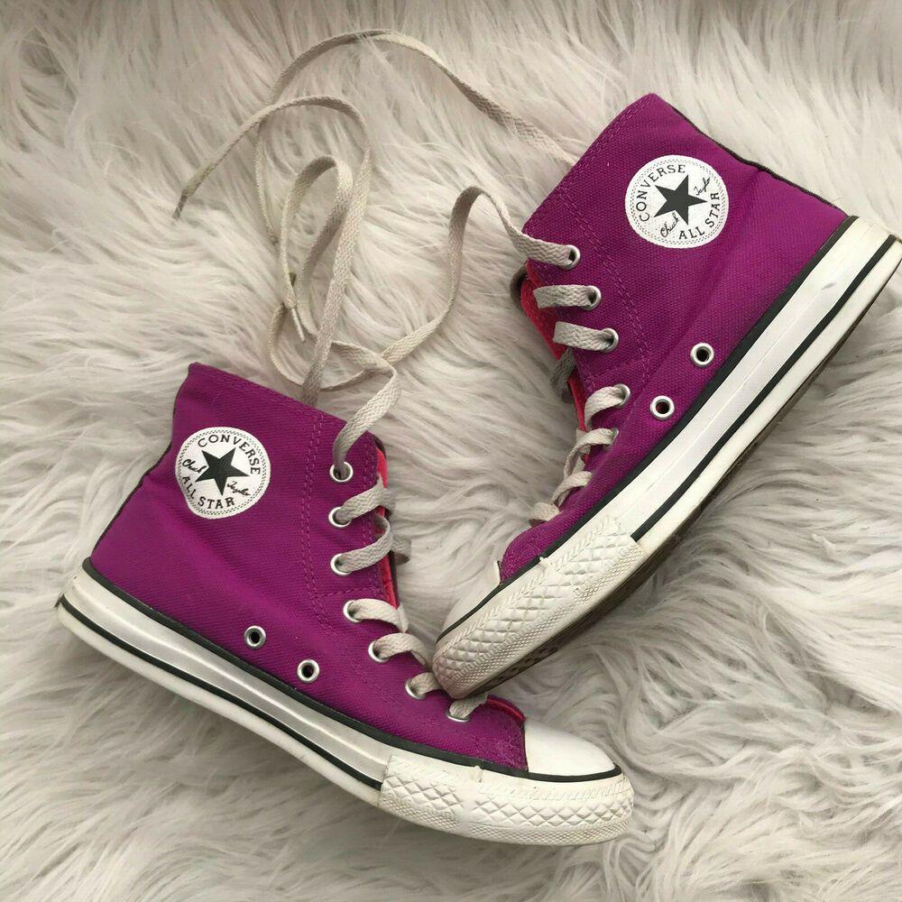 Converse All Star Magenta Purple Pink
