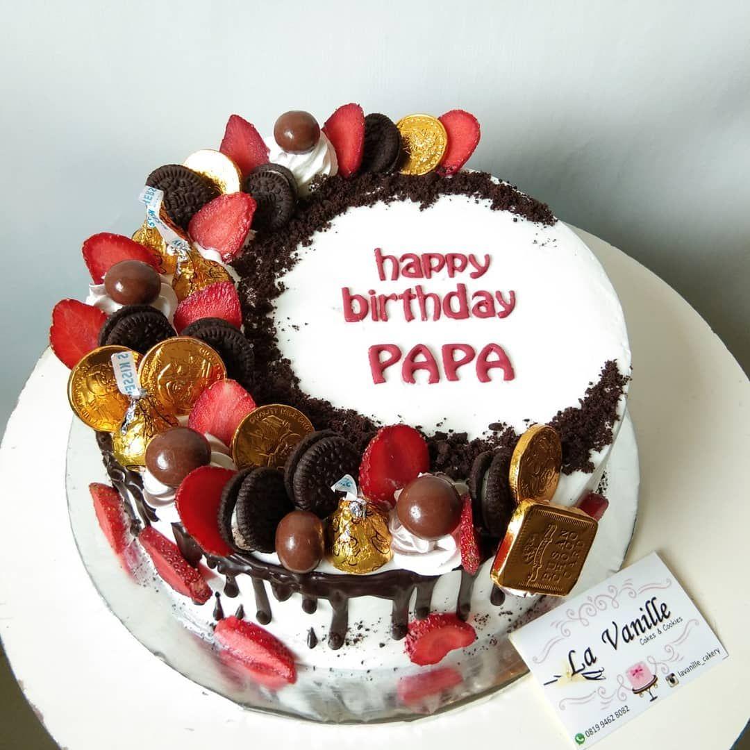 🎂🍫🍭 choco birthday cake 📞Order via DM/WA 0819 9462 8082