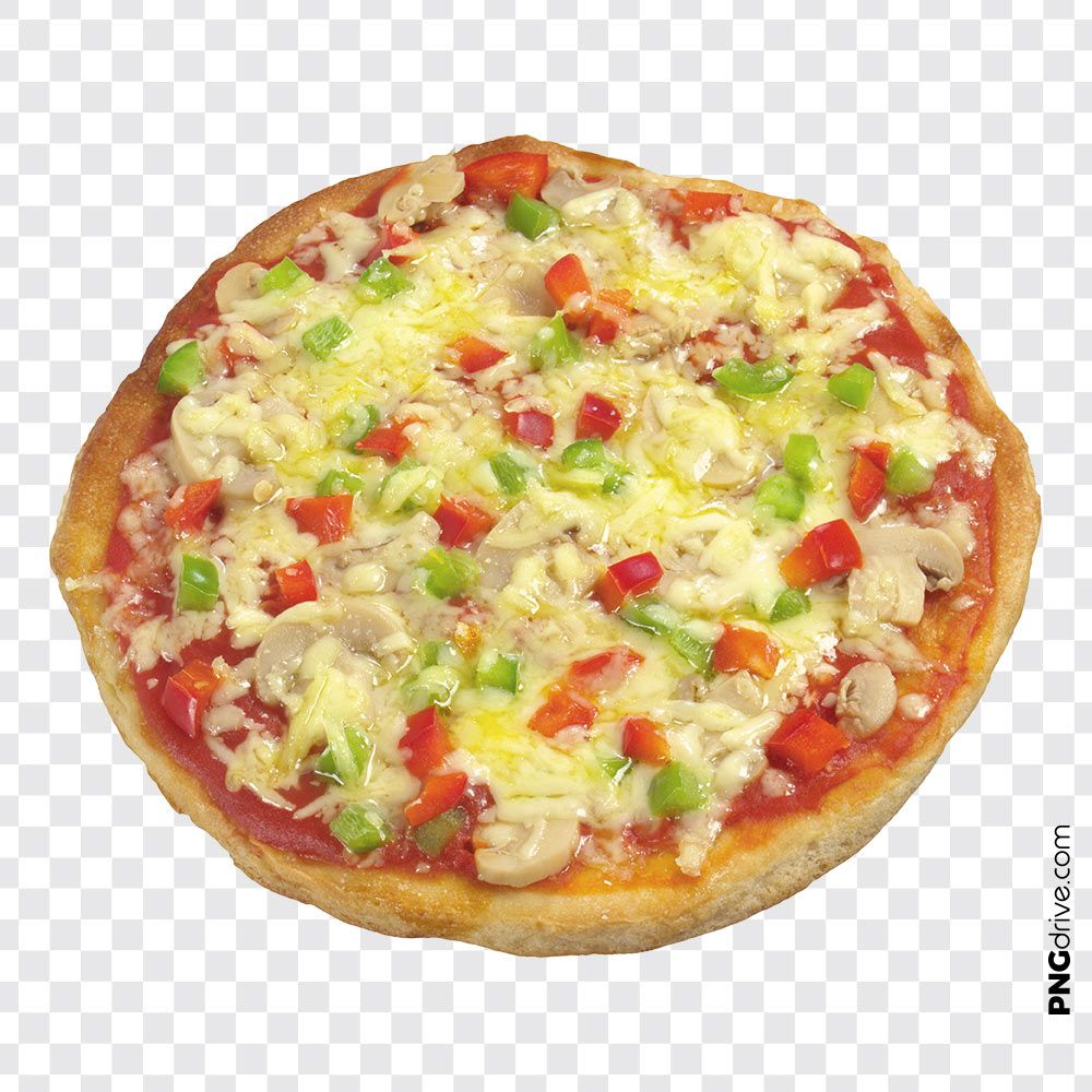 Pin By Png Drive On Pizza Png Images Creamy Cheese Vegetable Pizza Pizza