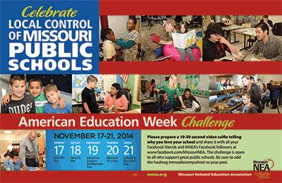 American Education Week 2014 | Missouri NEA | MNEA Posters ...