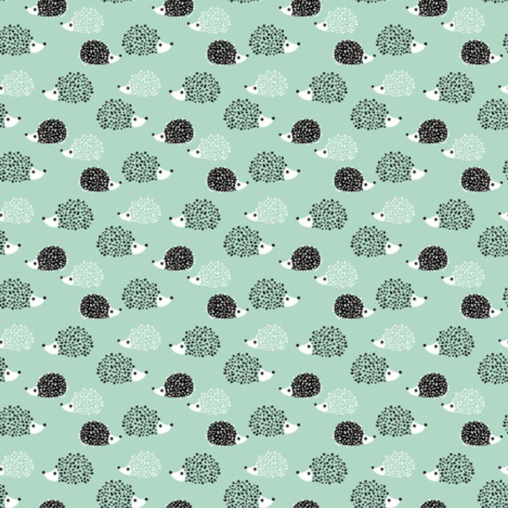 Designer Cute Hedgehogs - Baby Sleep Nest - Infant or Toddler