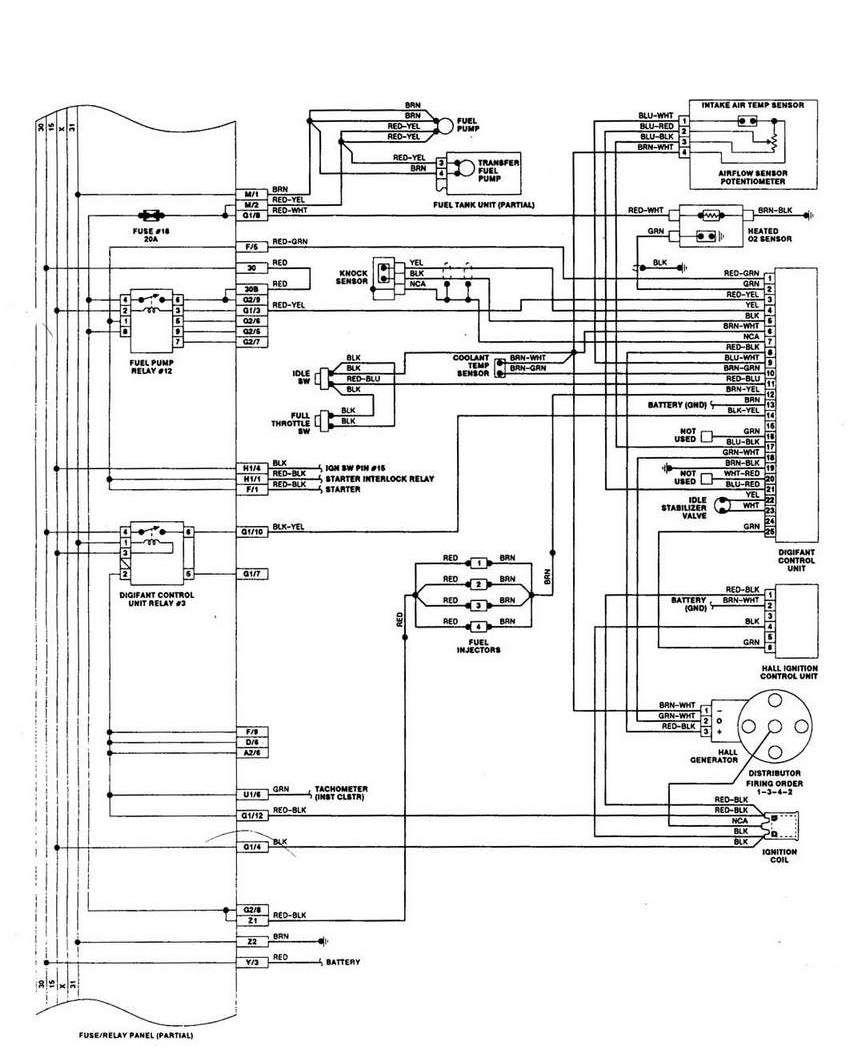1998 Ford Windstar Wiring Schematic