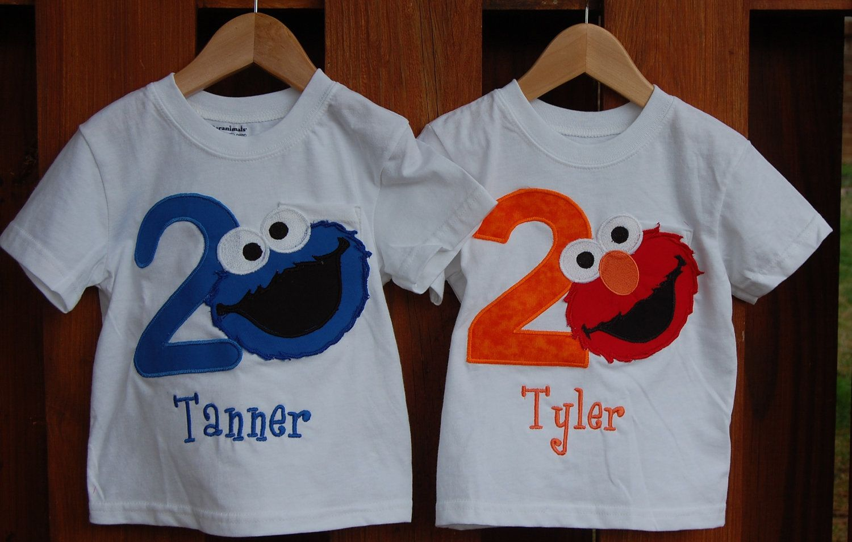 Elmo 2nd Birthday Shirt Boy