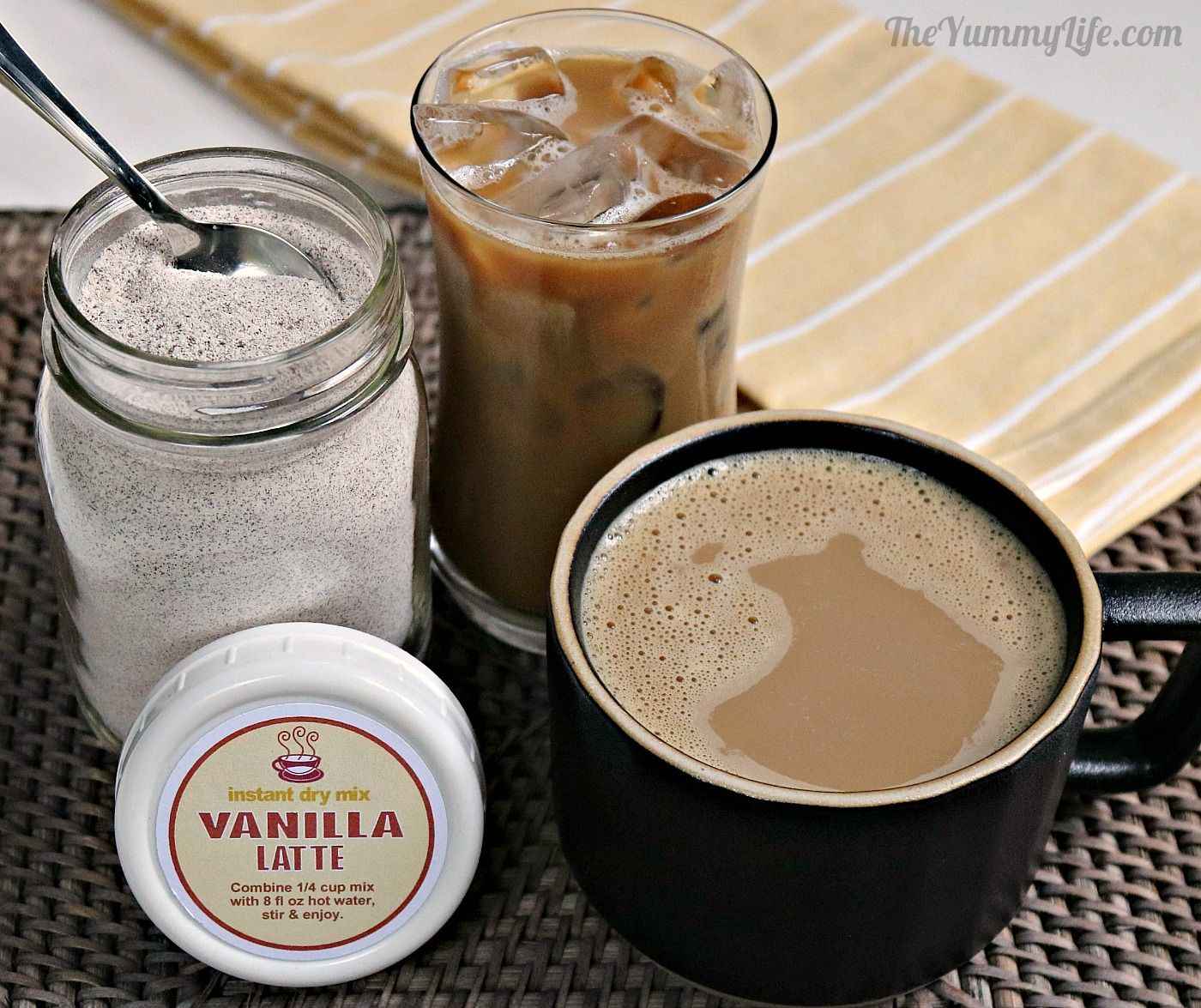 Latte Instant Dry Mix