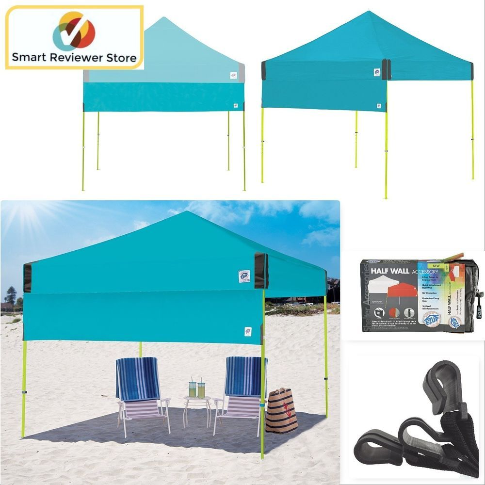 Instant Canopy Tent 10X10 Half Wall Outdoor Pop Up Gazebo Patio Beach Sun Shade  sc 1 st  Pinterest & Instant Canopy Tent 10X10 Half Wall Outdoor Pop Up Gazebo Patio ...