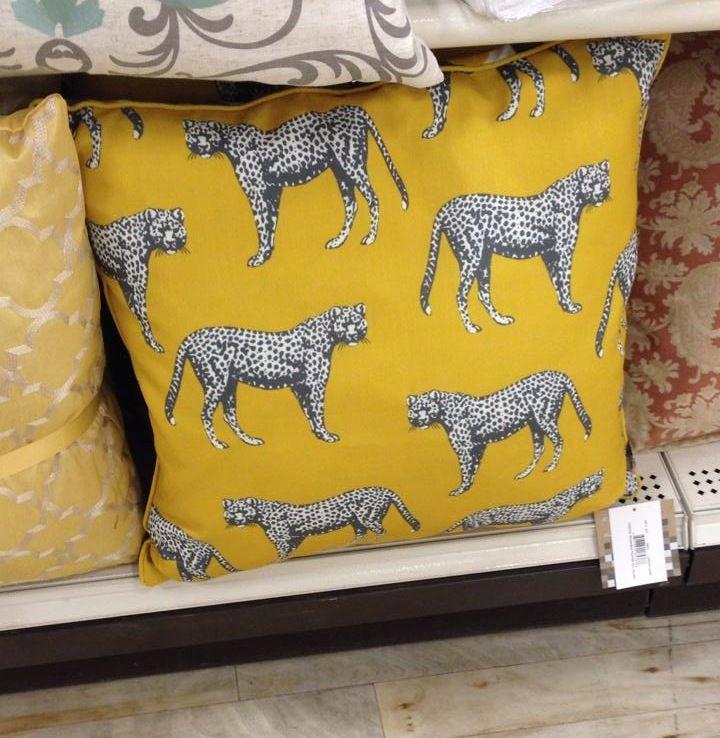 Homesense Cheetah Pillow. Love this!   Home - Home Accessories ...