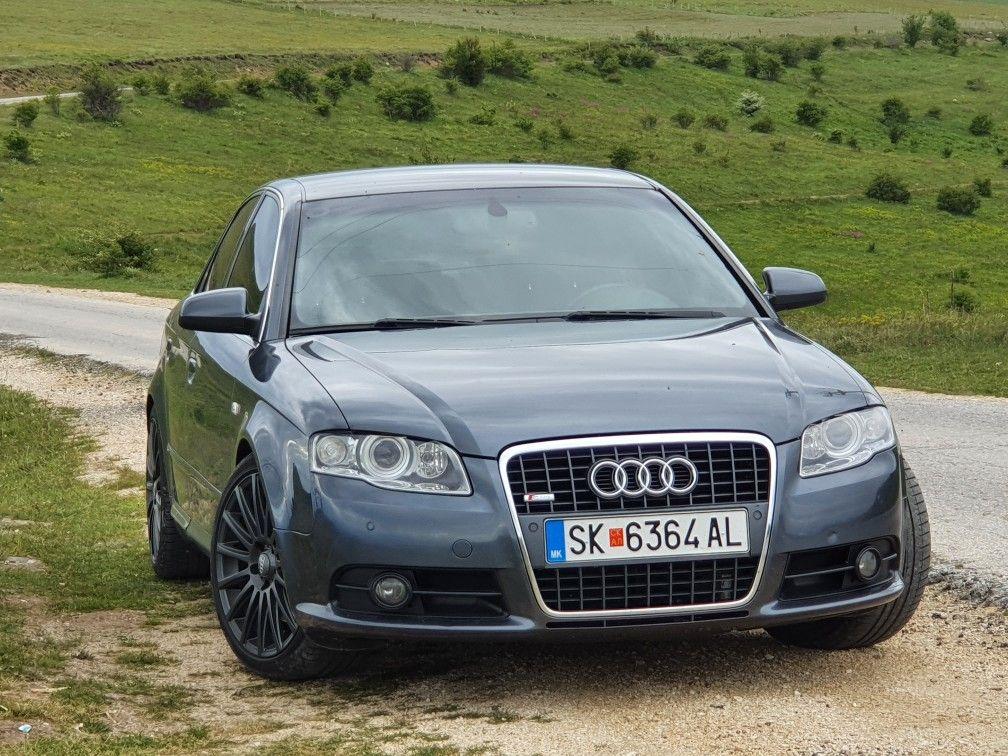 Audi A4 S Line Audi A4 Audi A4 B7 Audi