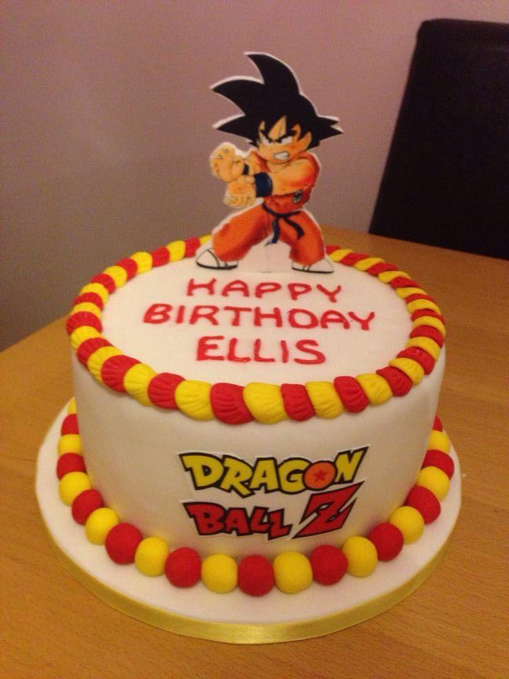 Dragon Ball Z Cake Decorations Boys Dragon Ball Z Cake  Cake Decorating  Pinterest  Dragon