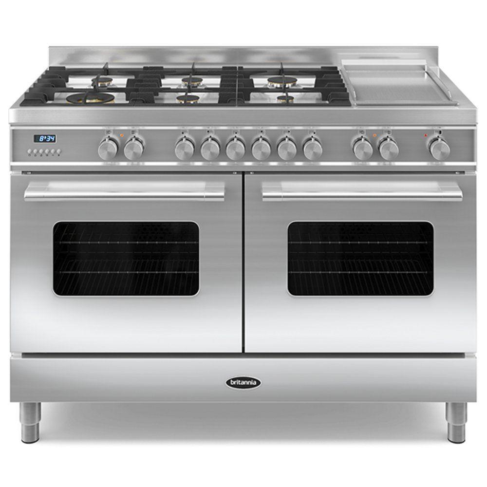 Uncategorized Kitchen Appliance City britannia rc 12tg de s 120cm delphi dual fuel range cooker appliances