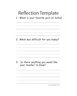 reflection on lesson plan quality for Reflect: implementation reflection 1 brief description of lesson plan my lesson was intended for our unit on informational text with my sixth grade language arts classes, covering two 50 minute periods.
