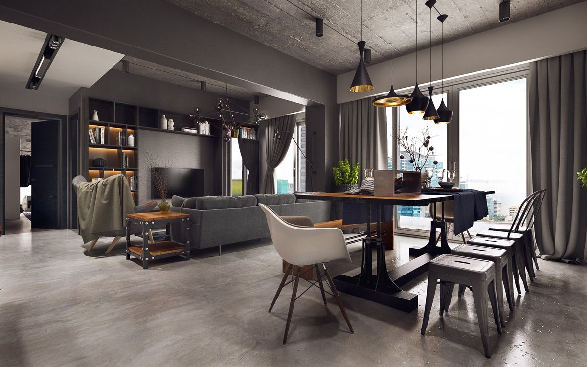Industrial Style Dining Room Design The Essential Guide Dining