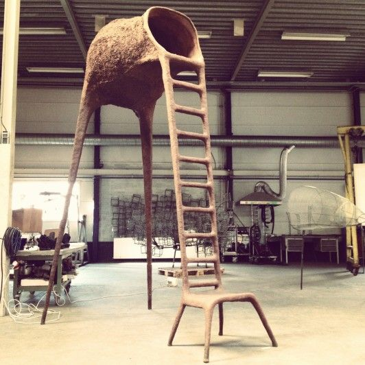 Tree Chair by Nacho Carbonell. Spotted at the Dutch Design Week.