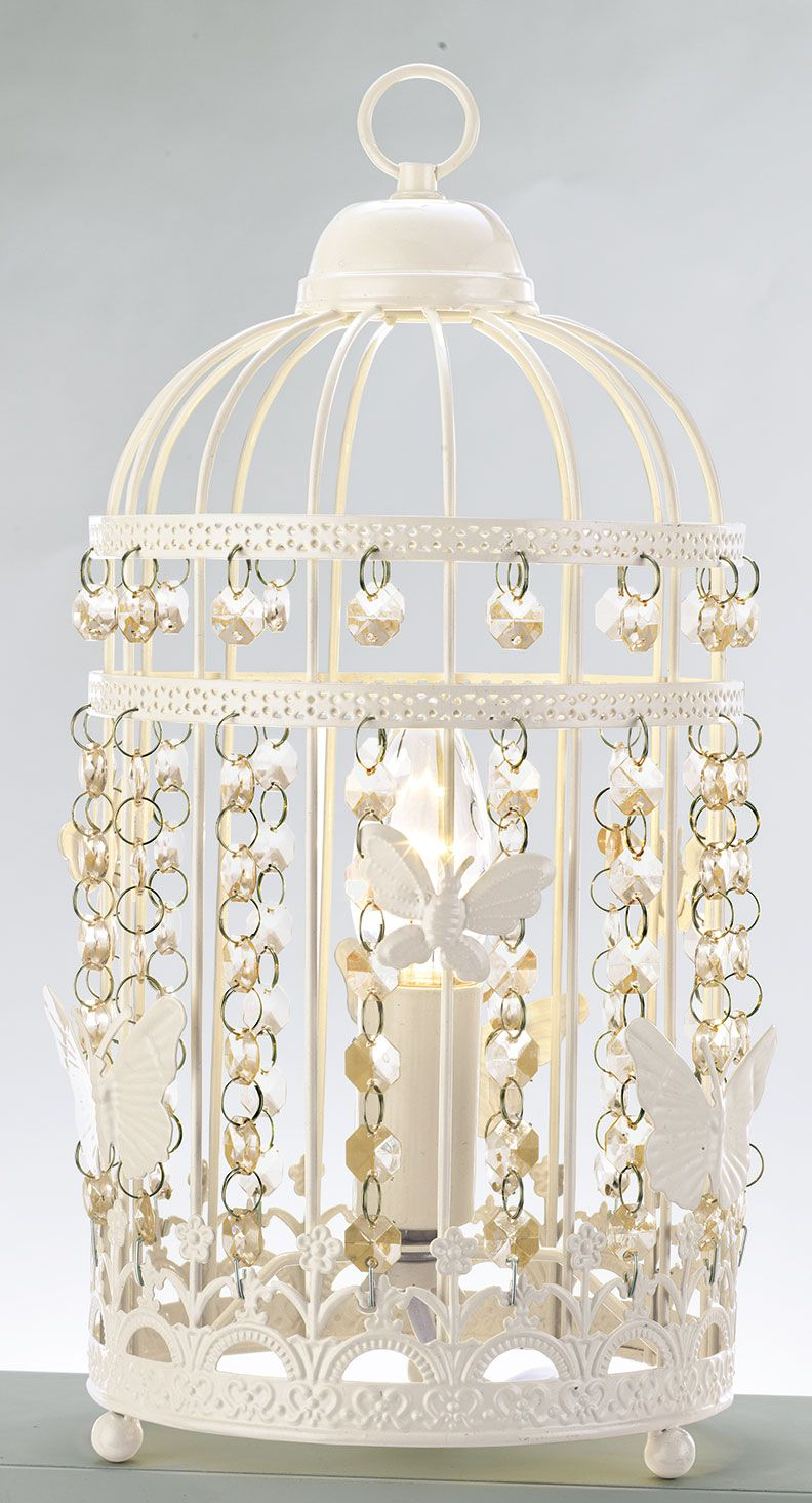 Copyrights Unknown Inspire Birdcage Table Lamp From Argos