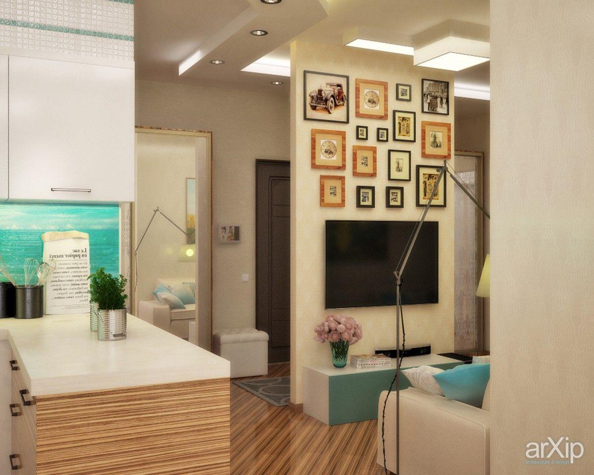 Морской бриз - кухня студия: интерьер, квартира, дом, кухня, современный, модернизм, 20 - 30 м2 #interiordesign #apartment #house #kitchen #cuisine #table #cookroom #modern #20_30m2 arXip.com