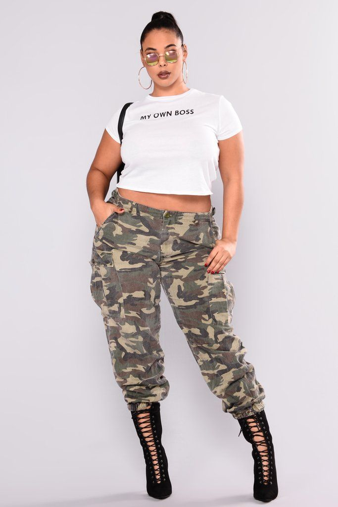 03f2356808449 Cadet Kim Oversized Camo Pants - Camo | Fashion Nova | Pants ...