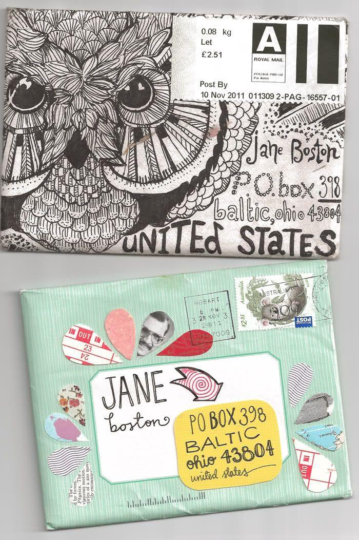 Mail Art  Art    Diy Envelope Envelopes And Return