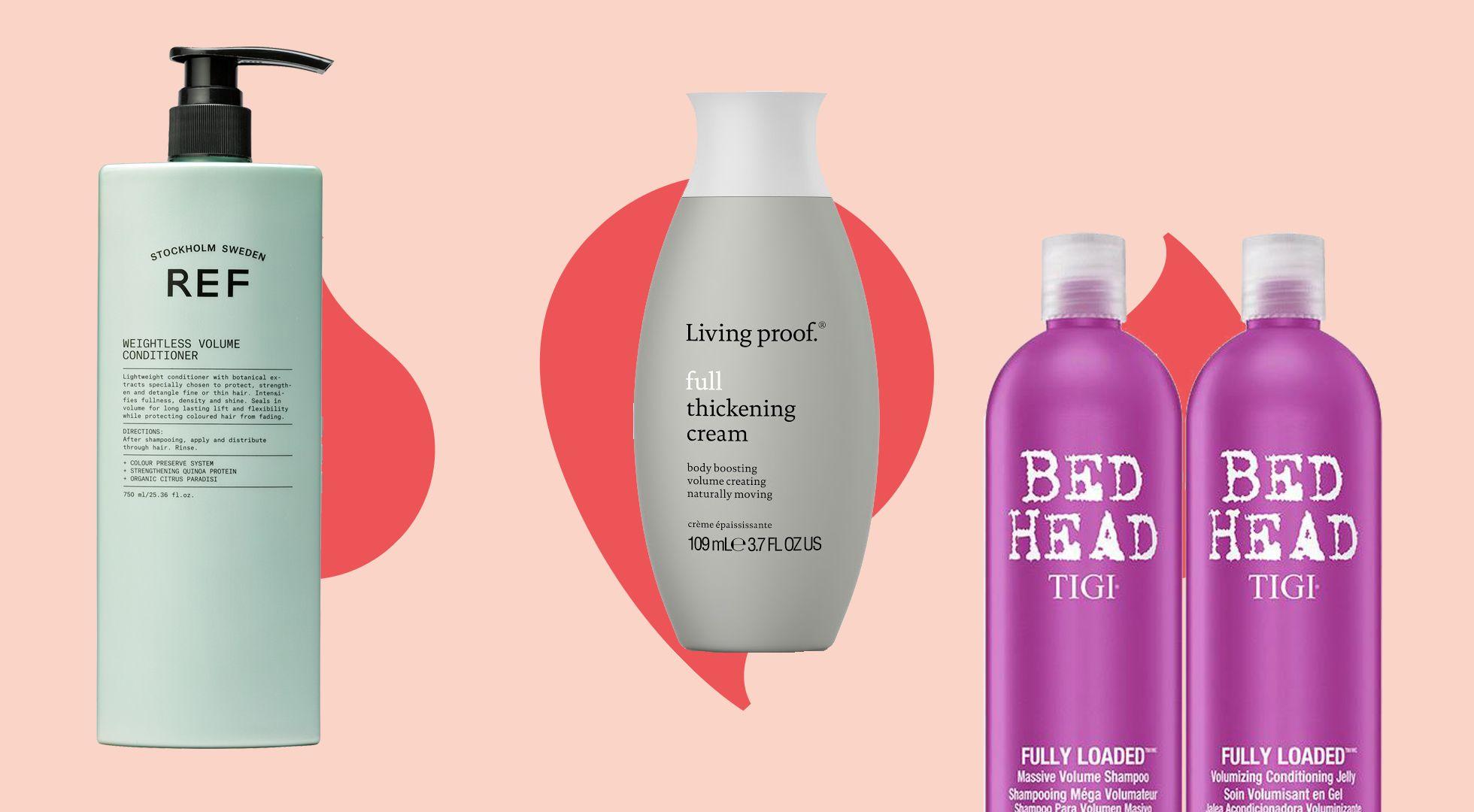 produkter för tjockare hår