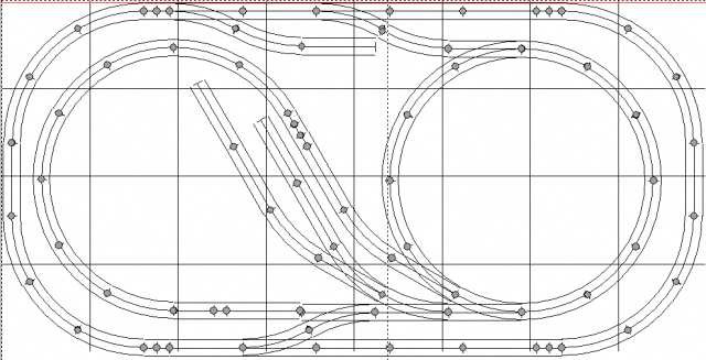 4x8 u0026 39  track plans for model train layouts  o gauge twists