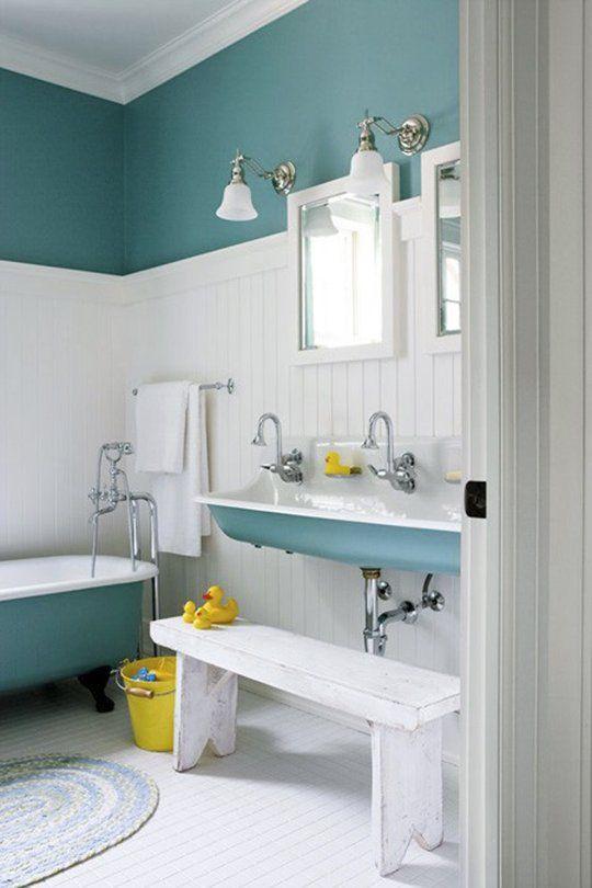 Paint Color Portfolio Turquoise Bathrooms Kid Bathroom Decor