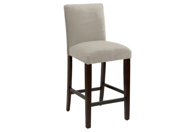 Swell Pleated Barstool Silver Velvet Kitchens Are The Heart Of Andrewgaddart Wooden Chair Designs For Living Room Andrewgaddartcom