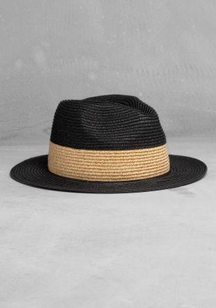 cecccc35e74e2 Tricolor straw hat