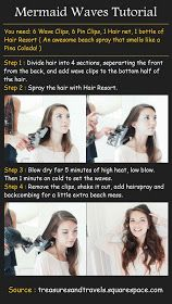 Pinterest Tutorials: Mermaid Waves Tutorial