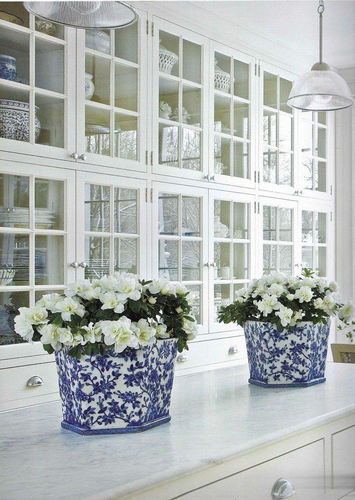 Blue And White Fresh Clean M